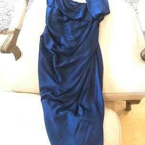 Donna karan silk dress size 2